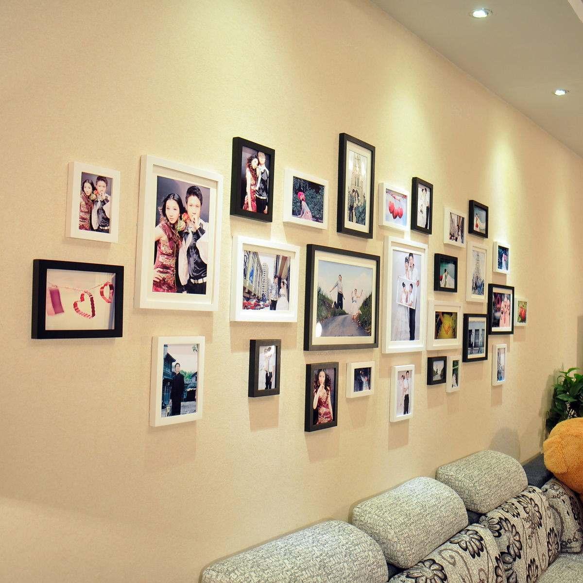 家中照片墻該怎么設計   照片墻五大排版技巧